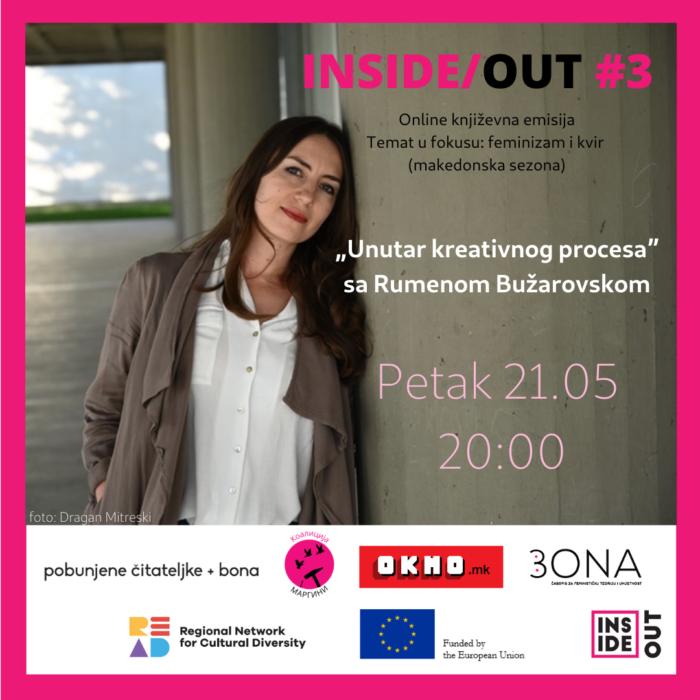 Inside/Out – 'Unutar kreativnog procesa' sa Rumenom Bužarovskom